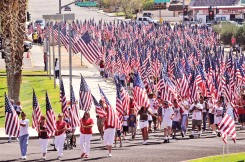 parade of american flags
