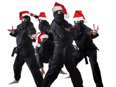 Beware of Christmas Ninjas | The City of Byron City