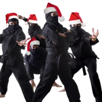 Beware of Christmas Ninjas