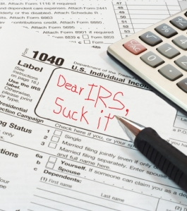 suck it IRS
