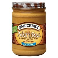 Online Review: Smucker's Peanut butter WITH honey in the same jar? Wha…?!